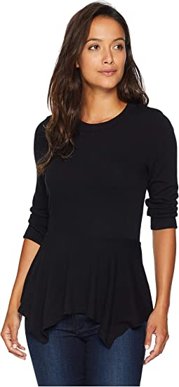 3/4 Sleeve Peplum Sweater