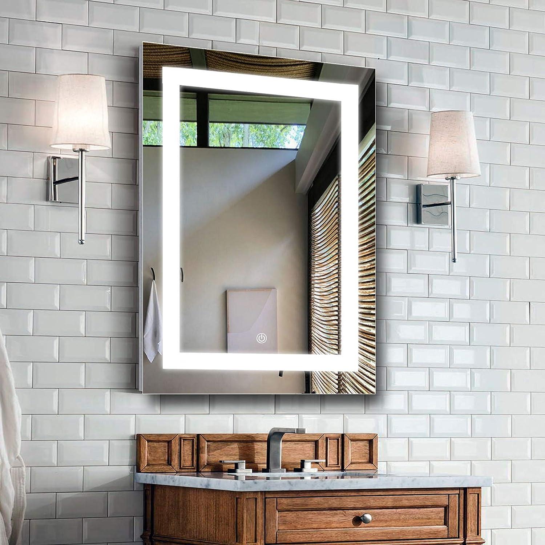 List price MAVISEVER 20 x 28 Inch Bathroom Super sale Mirror LED Anti-Fog Wall Vanity