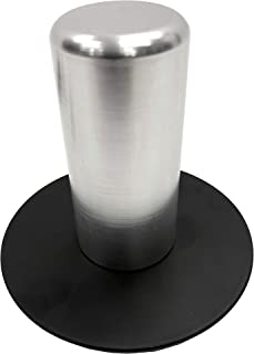 "35mm. x 3"" Aluminum Speaker Mount Pin Base For Truss Top Plates/Bases"