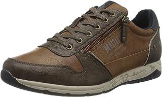Mustang 4106-306, Sneakers Basses Homme, Marron (Kastanie 301), 45 EU