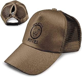 Show Me Your Pitties Pitbull Unisex Athletic Trucker Hat Mesh Baseball Cap Black