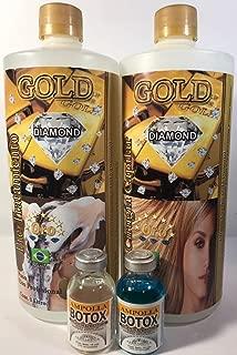 Cirugía Capilar Diamond Gold 1 liter (Shampoo-Treatment)