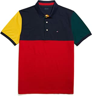 Tommy Hilfiger Men's Adaptive Polo Shirt W/Magnetic Buttons Custom Fit