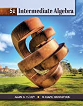Bundle: Cengage Advantage Books: Intermediate Algebra, Loose-leaf Version, 5th + WebAssign Printed Access Card for Tussy/Gustafson's Intermediate Algebra, 5th Edition, Single-Term