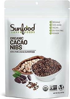 Sunfood Cacao Nibs (8 Ounce)