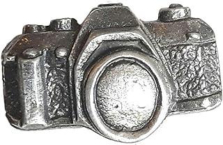 Fotocamera Vecchio Stile 35mm Compleanno Artigianale di Qualità Spilla in Peltro Regno Unito
