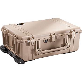 Pelican 1650 Camera Case With Foam, Desert Tan