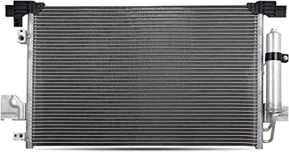 NEW 3747 Aluminum A/C AC Condenser Replacement For 08-17 Mitsubishi Lancer / 07-13 Outlander 11-18 Outlander Sport