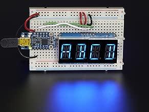 Adafruit Quad Alphanumeric Display - Blue 0.54
