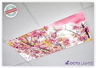 Flower 006 2x4 Flexible Fluorescent Light Cover