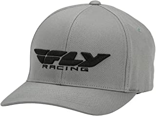 Chapéu de Pódio Fly Racing (Grande/GG) (cinza)