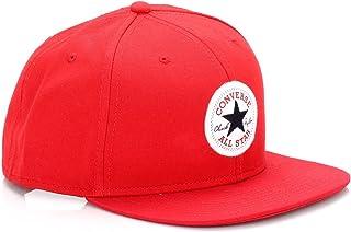 Converse Core Snapback Twill Cap in Red