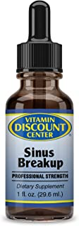 Vitamin Discount Center Sinus Breakup, Botanical Extracts, Olive Leaf, Echinacea & Goldenseal, 1 fl oz