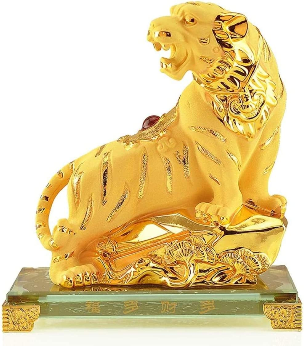 Statues Feng Shui Nippon regular agency Decoration In a popularity Zodiac Symbolize Resin Tiger Crafts