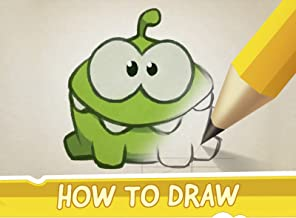 Cut the Rope - How to Draw Nommies
