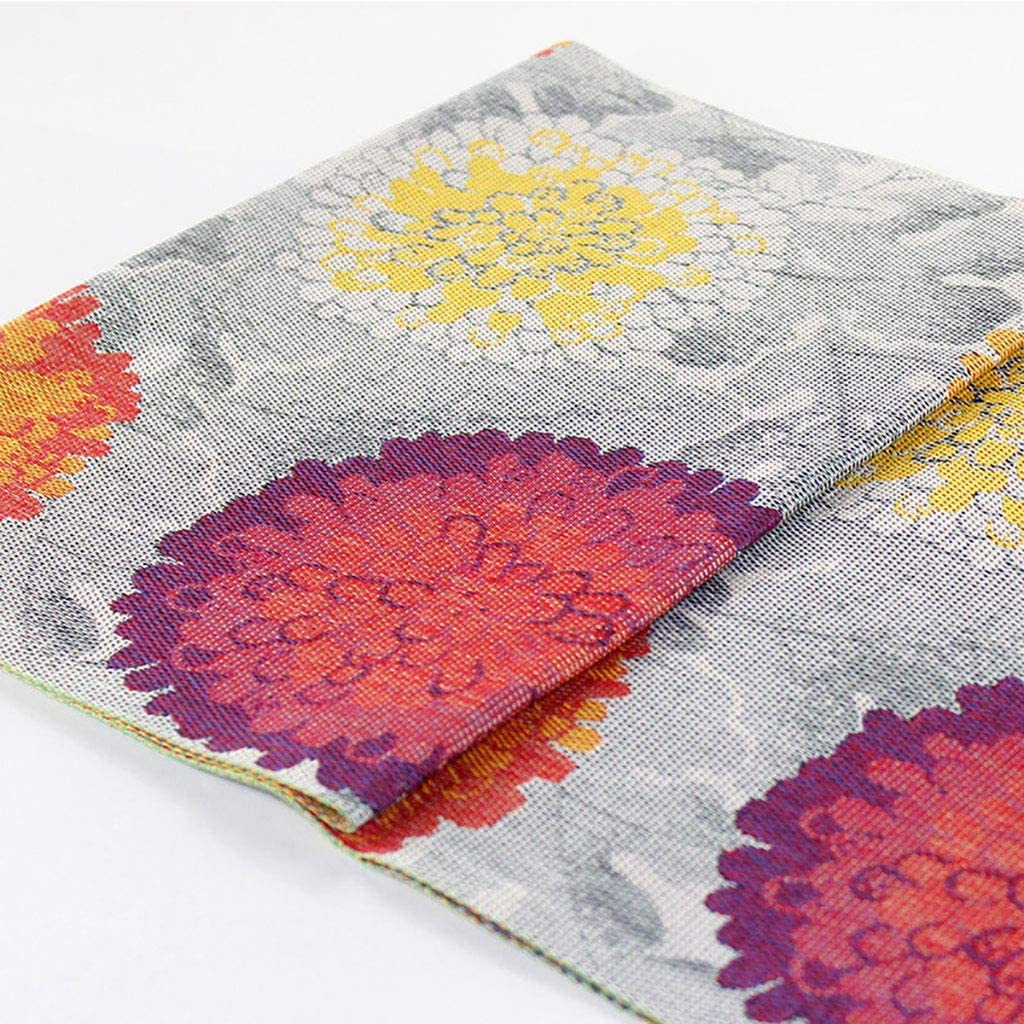 GDXFSM Table Runners Modern Weddin for Large-scale sale Max 57% OFF Flowers Big