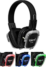 Talent RF-309 Silent Disco 3 Channel Headphones with 3 Color LED (Single Pair)