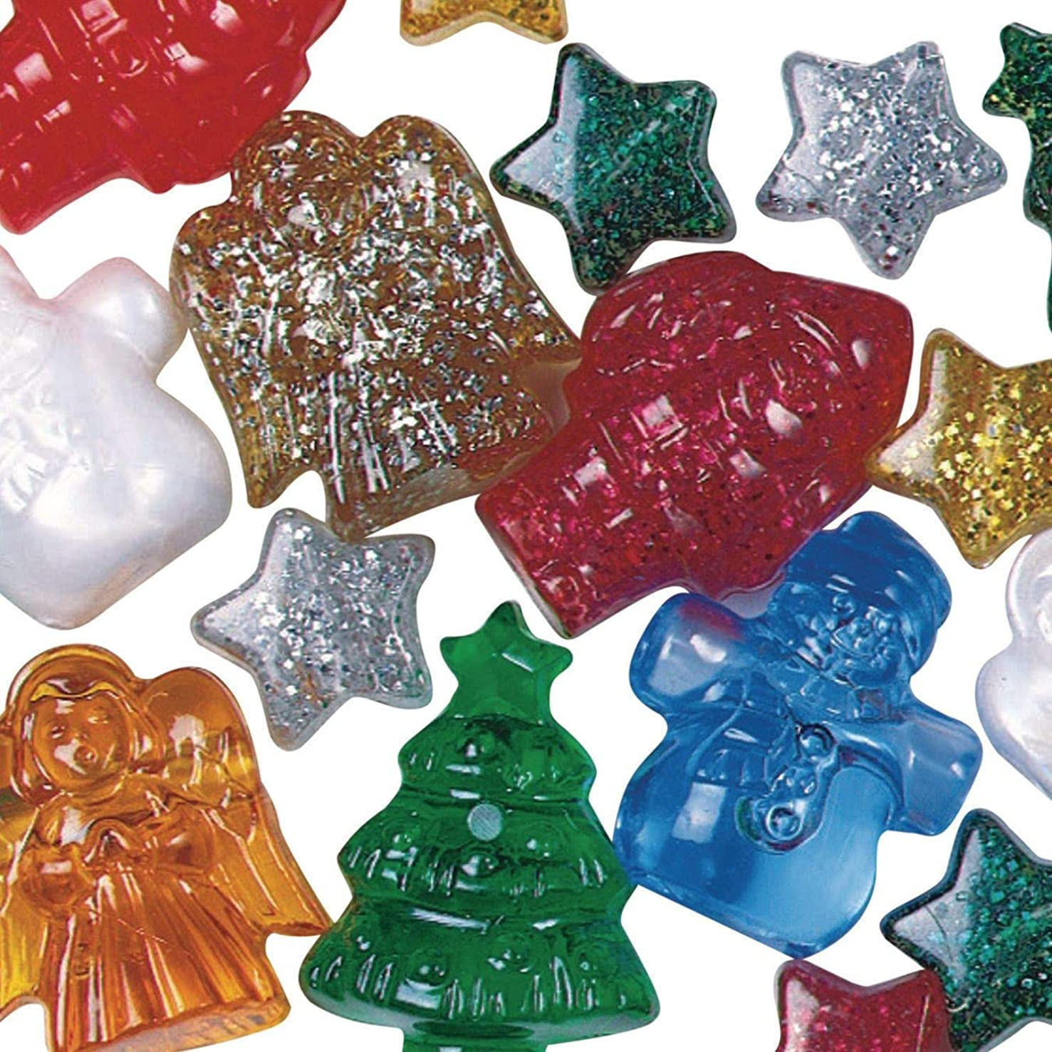 Christmas Bead Assortment 1/2 lb. Bag