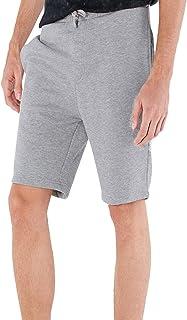 Brave Soul Mens Tarley Designer Training Jogger Shorts - Grey - X-Large-40/42W