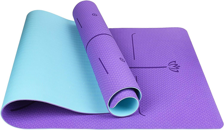6mm Thick Yoga Mats Colorado Springs Mall for Women Slip Mat Deepen RedMiter Ranking TOP14 Non