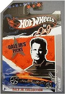 Hot Wheels By Dale Jr. - F-Racer - Dark Orange/Blue - Dale Jr. Collection [12/12]