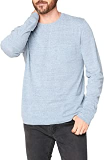 Mens Threads 4 Thought - Long Sleeve Triblend Pocket Crew Tee