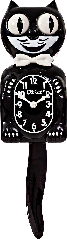 El mejor capricho: Reloj de Pared Gato Negro Clásico