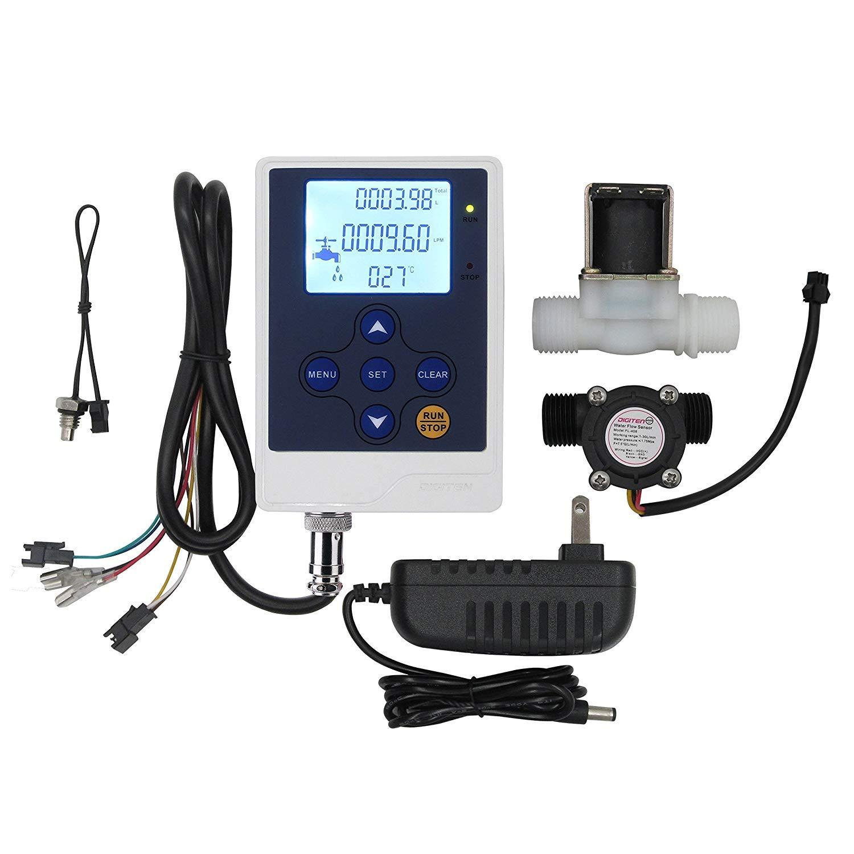 DIGITEN Water San Jose Mall Flow Control LCD Meter+1 Cheap SALE Start 2 2