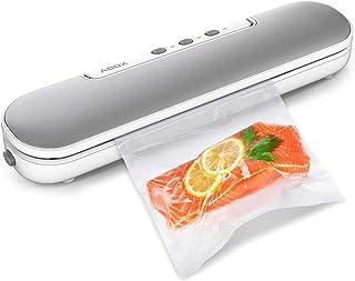 Machine Sous Vide, ABOX 4 en 1 Appareil de Mise Sous Vide Alimentaire Automatique avec 10 Sacs Sans BPA pour Aliments, Via...