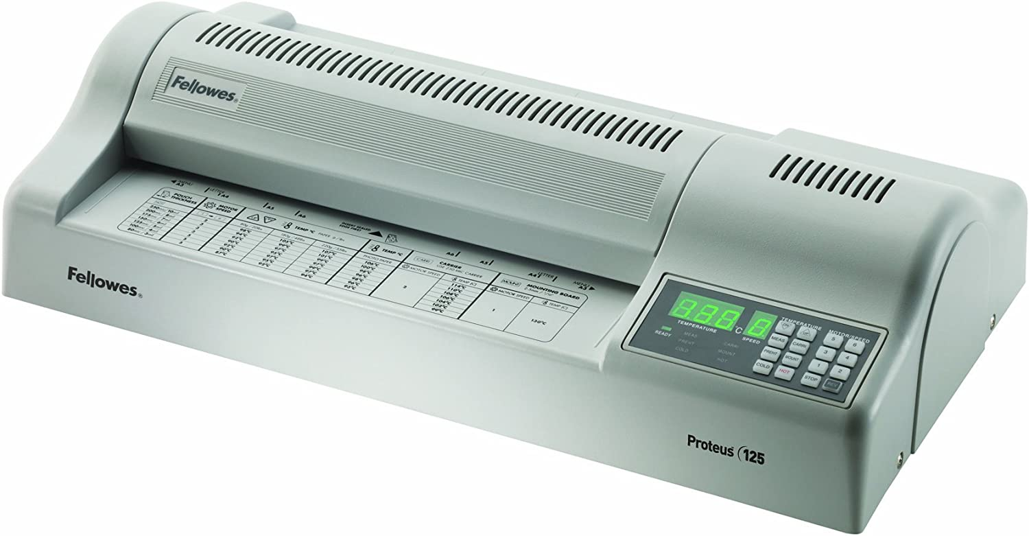 Fellowes Laminator Proteus Sales for sale 125 Machine Raleigh Mall Wh 5709501 Laminating
