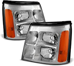 ACANII - For 2003-2006 Cadillac Escalade (HID Model Only) Headlights Headlamps Head Lights Lamps Driver + Passenger Side