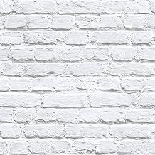 UGEPA J66529 - Papel pintado, Color Blanco, 10 m x 52 cm