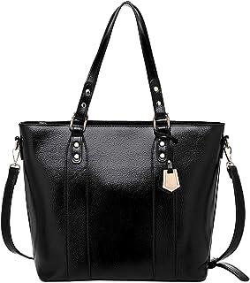 TOOGOO Women Satchel Shoulder Bags Purses and Handbags Tote Clutches Woman Bags Crossbody Bag Messenger Fashion Top Handle Bags, Fashion Black