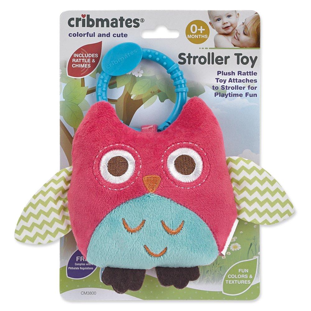 Cribmates Owl Stroller Toy