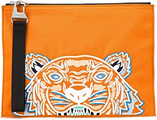 Kenzo FA55PM302F2017 Luxury Fashion - Bolso para hombre, color naranja