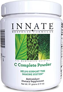 INNATE Response Formulas, C Complete Powder, Antioxidant Vitamin C Supplement, Vegetarian, 2.9 oz (30 servings)