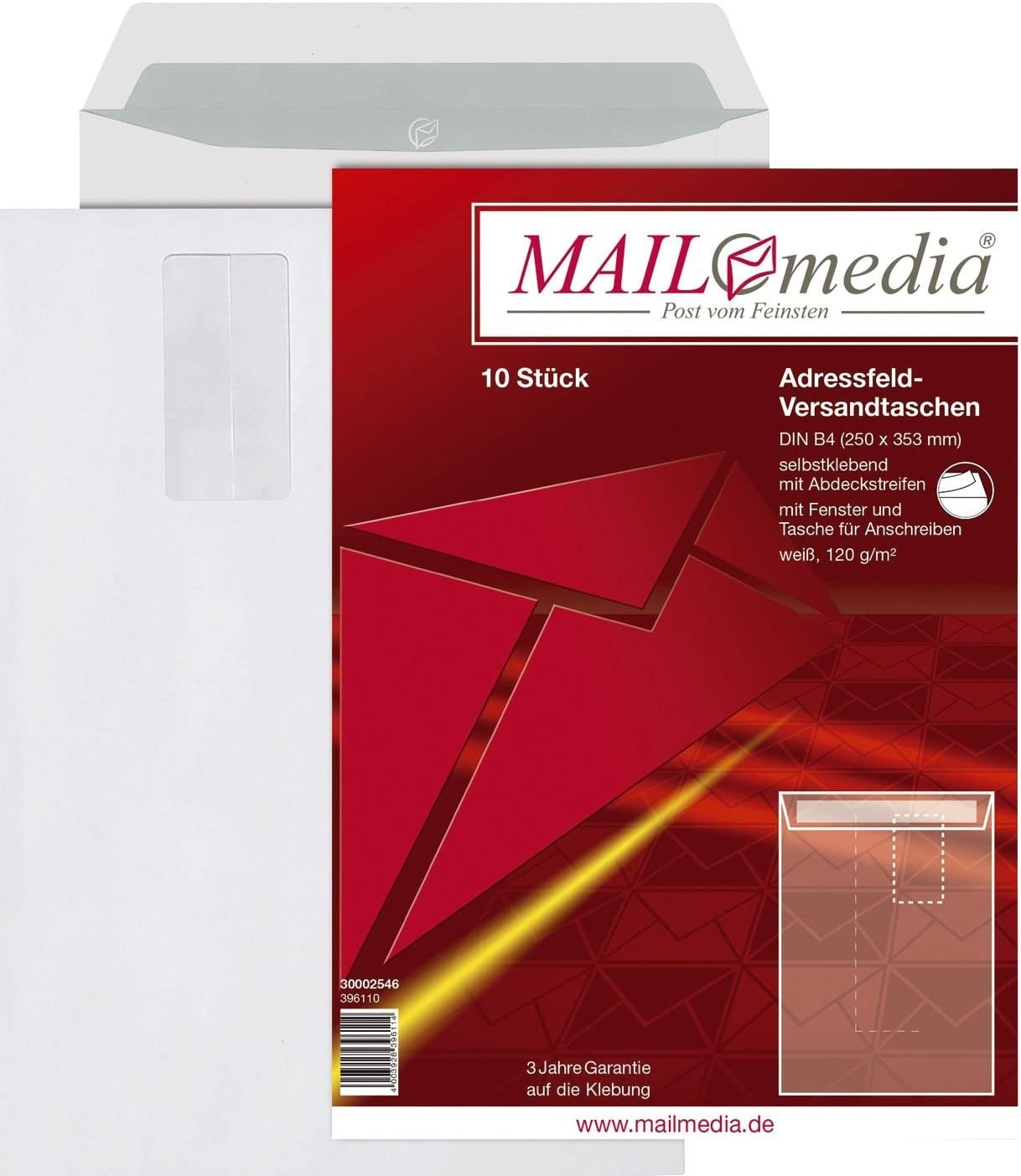 Elepa–Rössler 30002546Envelope Envelope B4with Popularity HK We OFFer at cheap prices 120 Window