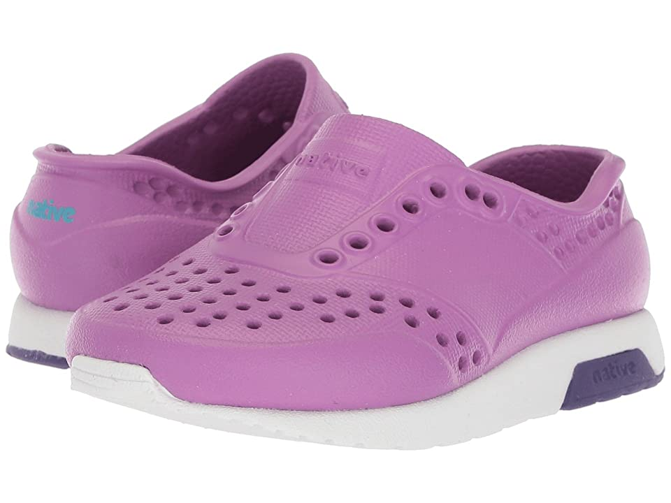Native Kids Shoes Lennox (Toddler/Little Kid) (Peace Purple/Shell White/Petal Purple) Girls Shoes
