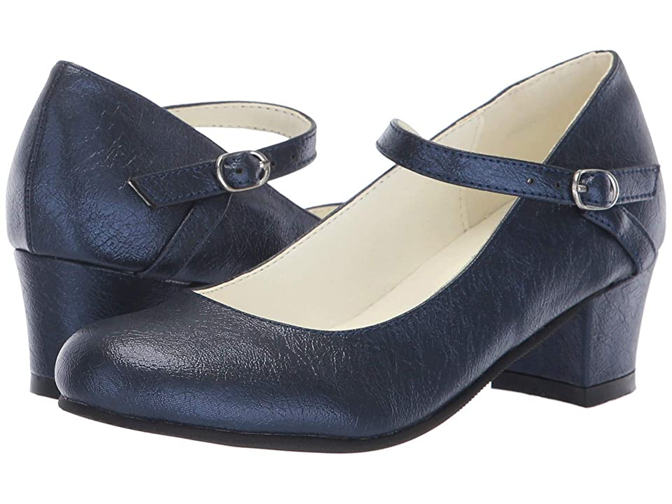 Amiana 6-A0924 (Toddler/Little Kid/Big Kid/Adult) (Navy Tinsel) Girl