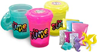 Canal Toys Slime Shaker 3-Pack Assorted Rainbow/Cosmic (Styles May Vary)