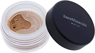 Bare Escentuals bareMinerals Matte Foundation SPF 15 N20 Medium Beige for Women, 0.05 Ounce