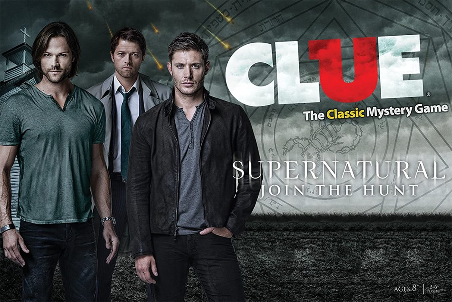 USAOPOLY Supernatural Collector's Edition Clue Board Game