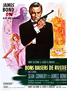 Posterazzi From Russia with Love (Aka Bons Baisers De Russie) Movie Masterprint Poster Print (11 x 17)