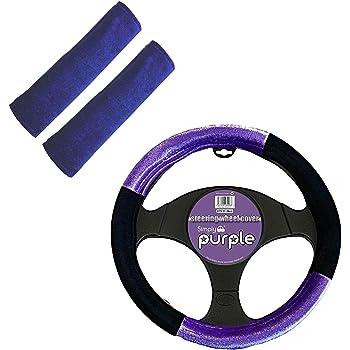 Blue Yesoa 1Pcs Car Steering Wheel Cover Carbon Fiber Auto Steering Wheel Cover 15IN//38CM Anti-slip Leather Steering Wheel Cover Elastic Breathable Automotive Decor Supplies