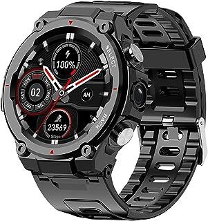 Q998 Smart Call Bracelet 1.28 Inch IPS Full Circle Volledige kijkhoek Bluetooth 4G Kaart Rugged Watch Meerdere sportmodi
