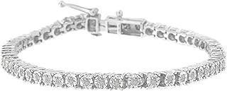 1.0 Ct Rose-Cut Diamond Tennis Bracelet – Flawless Style with Brilliant Shine
