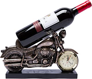 Casier à Vin De Moto RéTro De Personnalité CréAtive, Artisanat En RéSine, Peinte à La Main, Pour La DéCoration IntéRieure ...