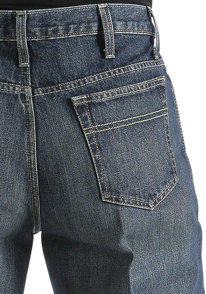 Herren Nachhaltige Stretch-Jeans Slim Fit 300770 in Dark Denim 60