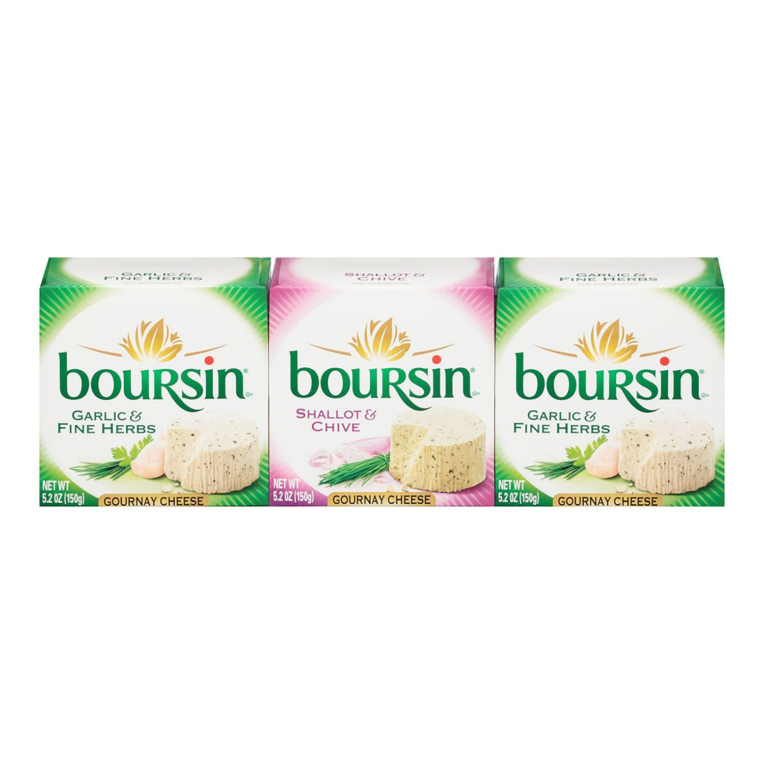 Boursin Garlic Herb and Shallot Weekly update Chive oz. Cheese New York Mall pk each 5.2 3