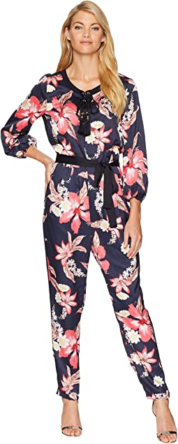 9d925a32d6df Juicy couture track velour juicy mania long sleeve jumpsuit at 6pm.com